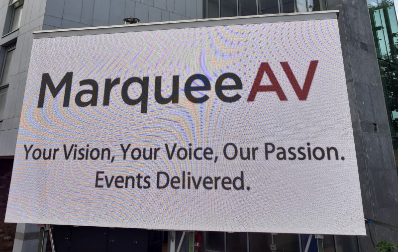 MarqueeAV Av Hire - Video Screen - Event Gallery Photo