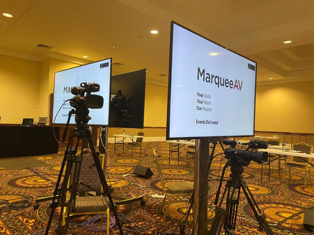 MarqueeAv Conference Video Streaming Services Ireland